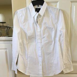 White crisp shirt J Crew
